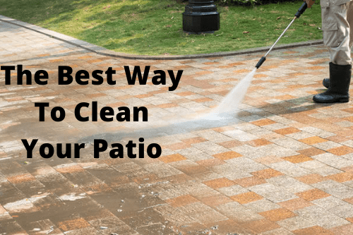 clean your patio